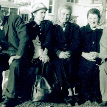 Johnny  McDonagh with his sisters Maggie Patton Chicago, Julia Conneely, Mary Flaherty and Danny Geraghty | Photo courtesy John Conneely