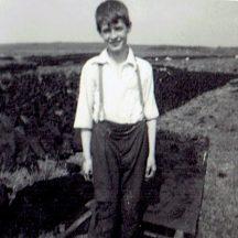 Denny McDonagh saving the turf. | Photo courtesy Judy Darcy