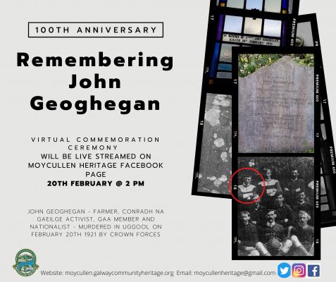 Remembering John Geoghegan