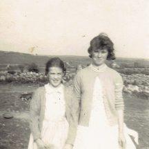 Judy McDonagh and her Cousin Mary Ann McDonagh | Photo courtesy Judy Darcy