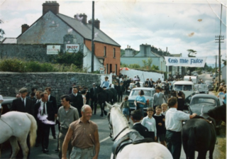 Launch of Moycullen Pony Trekking 18 June 1967 | Photo courtesy Gerry Nihill