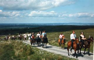 Pony Trekking at Drummaveg | Photo courtesy Gerry Nihill