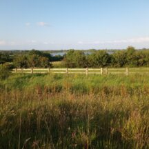 The bypass route fenced. View from N59 towards Ballyquirke | Moycullen Heritage