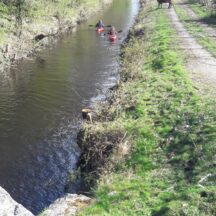 Canal on border between Clooniffe and Homefarm/Moycullen | Moycullen Heritage