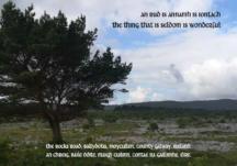Moycullen on a postcard.