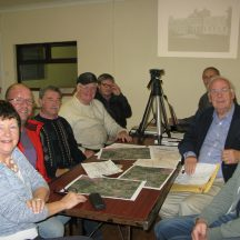 Monivea Tidy Towns  working on heritage audit