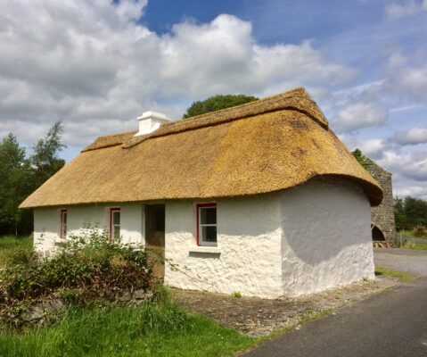 The Restored and Rethatched Miller's Cottage at Templetogher, Williamstown | Williamstown Heritage Society