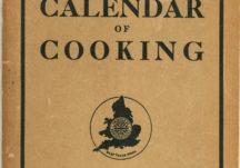 Calendar of Cooking 1936