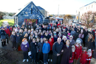 Locals at Moycullen Crib opening. |  Sean Lydon