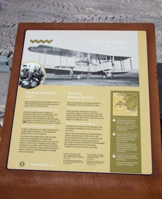 Bunowen Bay Information board | Roger Harrison