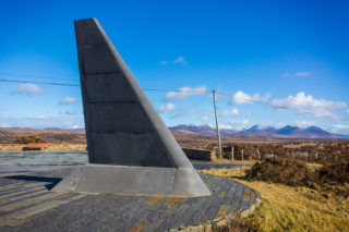 The Alcock and Brown memorial at Ballinaboy. | Roger Harrison