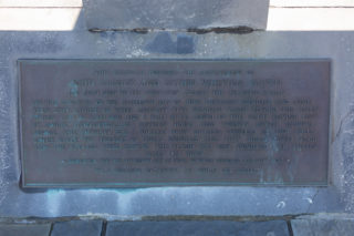 The plaque on the Alcock and Brown Memorial  | Roger Harrison