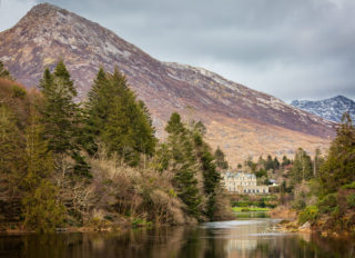 Ballynahinch Castle viewed up the Owenmore River | Roger Harrison
