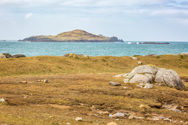 Cruagh, or Crow Island from Gooreen   Roger Harrison