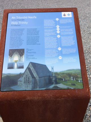 Information board at the Errislannan Church of Ireland church | Roger Harrison