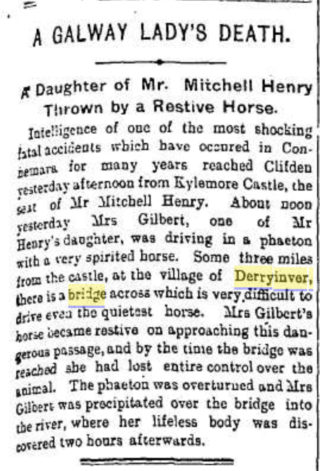 Dawrosmore | From the Evening Herald, Thursday 22nd September 1892.