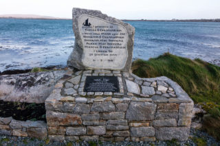 Memorial to the loss of the Pretty Polly and her crew in 1918 | Roger Harrison