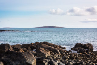 Croaghnakeela Island as viewed from Dolan.  | Roger Harrison
