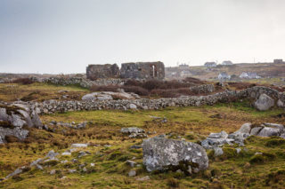 Ruins of the Old Moyrus Protestant Church Missions | Roger Harrison