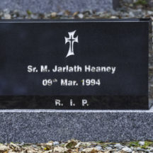 Grave 33 - Heaney | Roger Harrison