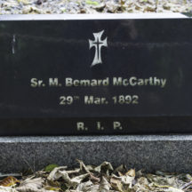 Grave 52 - McCarthy | Roger Harrison