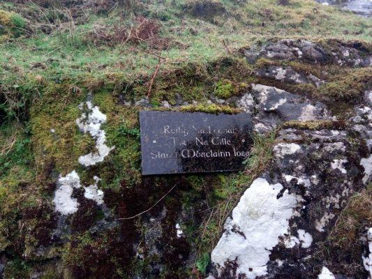 Children's graveyard commemorative plaque | Tomas O Flatharta