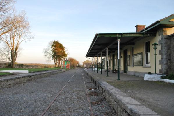 Railway station platform   Paul Connolly