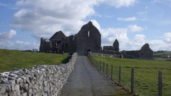 Cistercian Abbey, Abbeyknockmoy   Clare Doyle