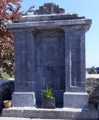 Parnell Monument in Creggs   Zena Hoctor