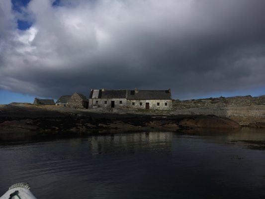 Deserted village on Dinish Island, Leitir Meallain | James Allison