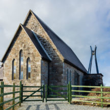 Errislannan Church of Ireland church recently refurbished after storm damage and vandalism. | Roger Harrison