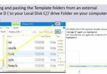 Excel training for digitising graveyard records