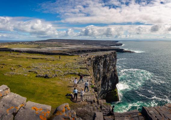 The cliffs from Dún Aonghasa | Roger Harrison