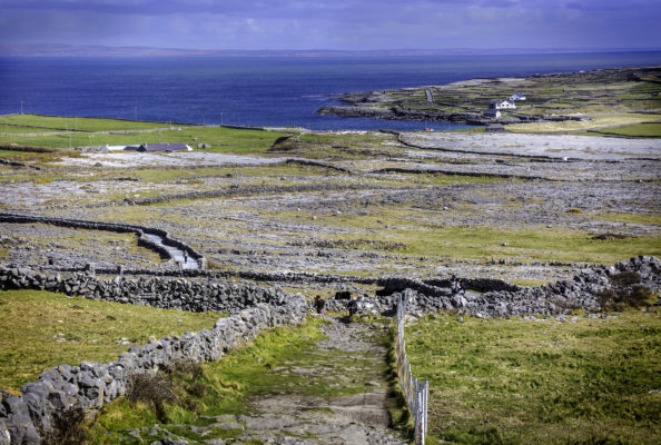 View of Inishmore from Dún Aonghasa | Roger Harrison