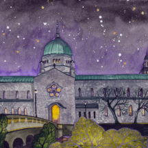 Galway Cathedral at night | Terri Kelleher