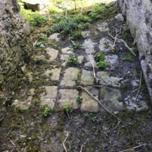 Stone paving in the 'Village' Island Eddy | Diarmuid Kelly