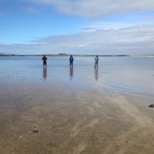 Waiting for the tide to go out at The 'Cush' Island Eddy | Diarmuid Kelly