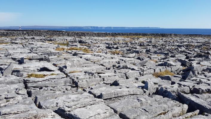 Karst Limestone pavement   Paddy Crowe