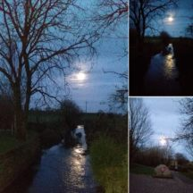 Milltown, Galway, Super Moon, 7th April 2020 | Ollie McHugh