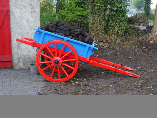 Cart of Turf   Moylough Heritage Society