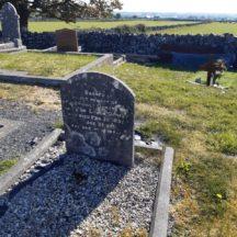 Ormsby grave Killeen cemetery | Marie Boran