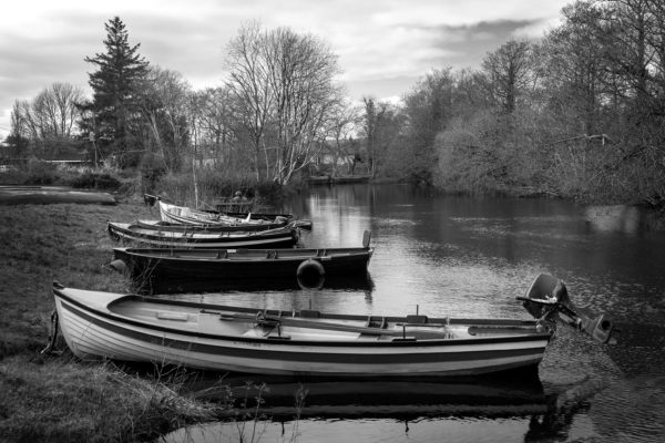 Boats in Oughterard | Roger Harrison