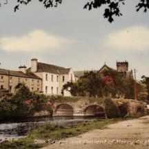 The bridge and the Convent of Mercy  | Oughterard Heritage