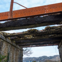 Remains of a bridge  | Roger Harrison