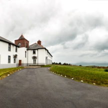 The old Renvyle Coast Guard station, now renovated and used as holiday lets. | Roger Harrison