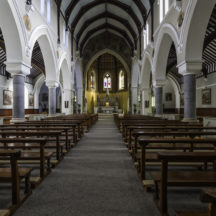 Inside St Josephs Church, Clifden | Roger Harrison