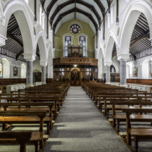 Inside St Josephs Church Clifden | Roger Harrison