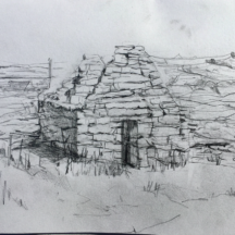 St. Gobnait's church on Inis Oírr | Selma Makela