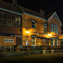 The old railway station, now the Station House Bar | Roger Harrison