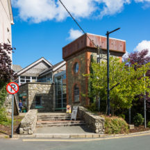 The old water tower at the Station House  | Roger Harrison